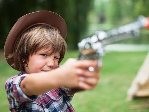 From nerf guns to waterpistols – should children play with guns?