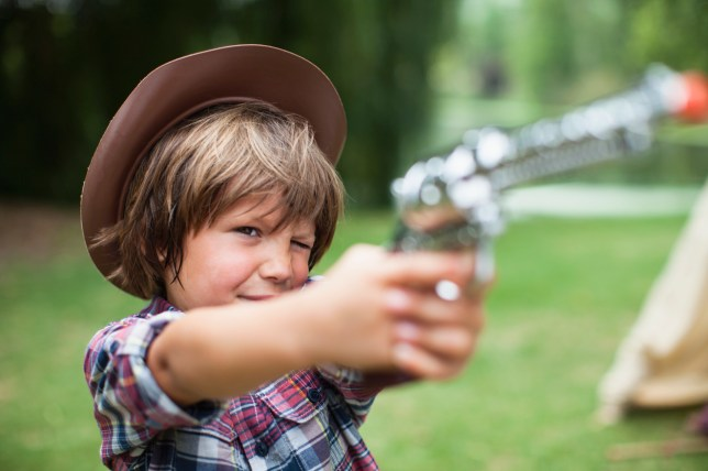 From nerf guns to waterpistols – should children play with