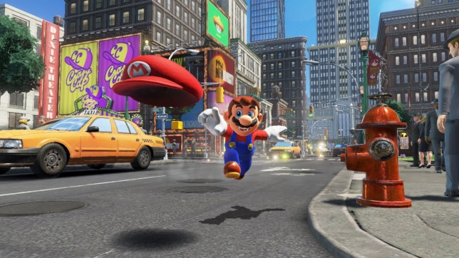 Super Mario Odyssey (NS) - Mario's got a lot to be happy about