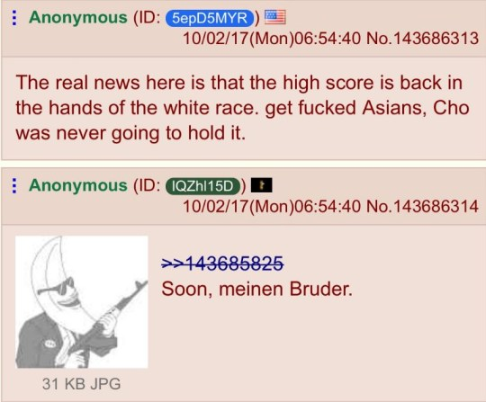 4chan users treat Las Vegas shootings like a game | Metro News