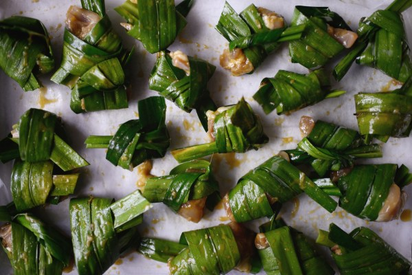 Uncooked pandan chicken (Picture: Getty)