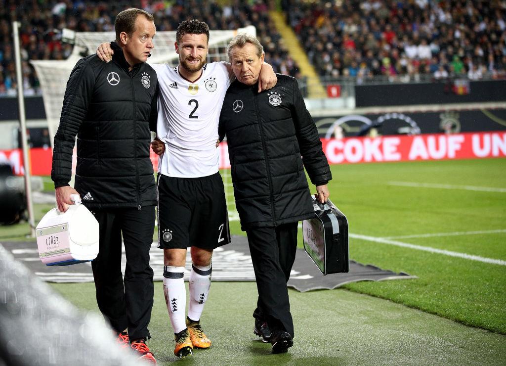 Germany boss Joachim Low delivers Arsenal bad news on Shkodran Mustafi injury