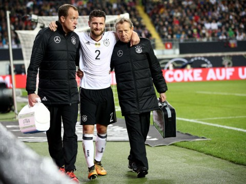 Germany boss Joachim Low delivers Arsenal bad news on Shkodran Mustafi injury