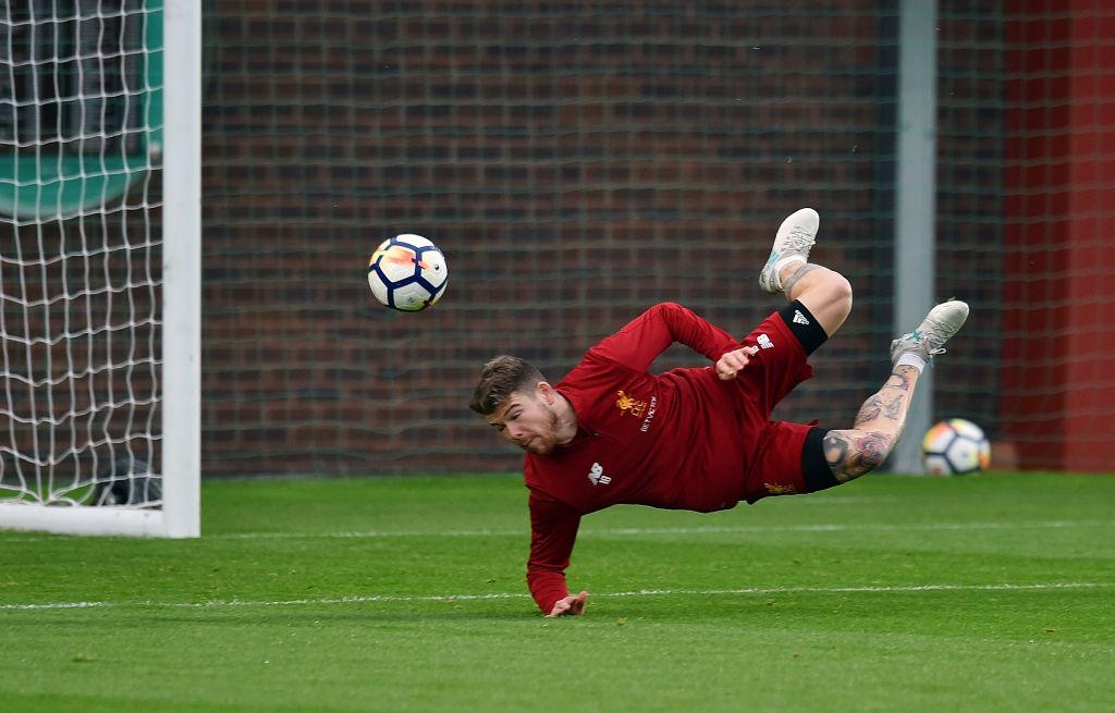 Watch: Alberto Moreno scores brilliant scorpion kick in Liverpool training