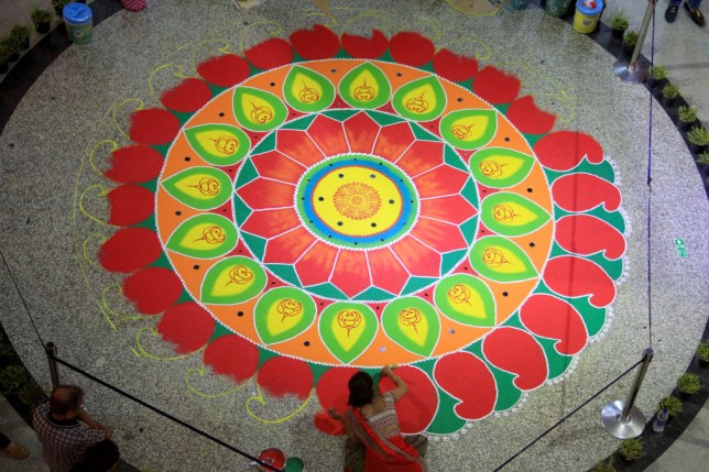What Is Diwali Rangoli Popular Patterns And Designs Metro News