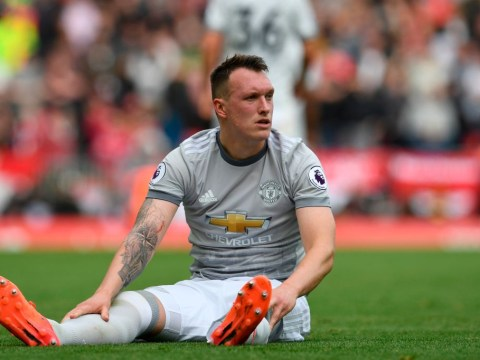 Manchester United open talks with Phil Jones for new £150,000-a-week deal