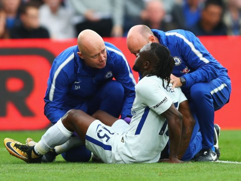Chelsea star Victor Moses expected to be out for four weeks with hamstring injury
