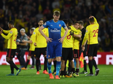 Per Mertesacker reacts to Troy Deeney saying Arsenal lack 'cojones'