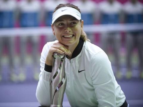 Worried, Serena? Maria Sharapova title drops latest hint at golden 2018
