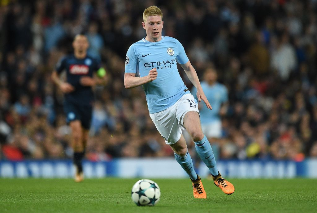 Kevin De Bruyne likened to two Manchester United legends during Napoli win