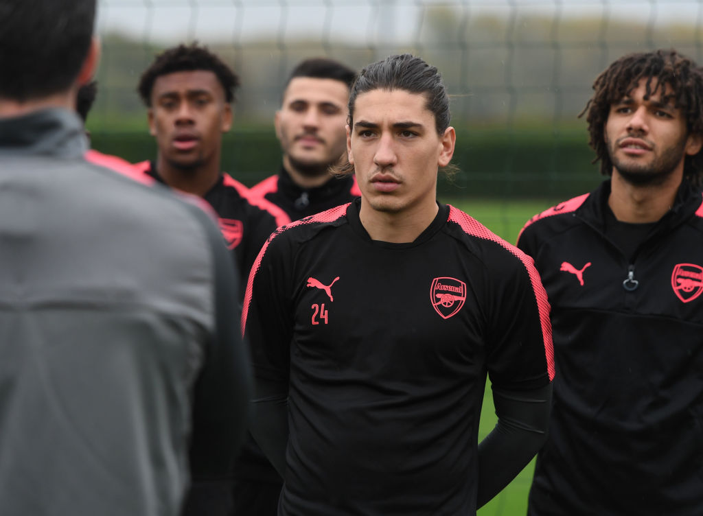 Hector Bellerin insists there has been an overreaction to Arsenal's recent displays
