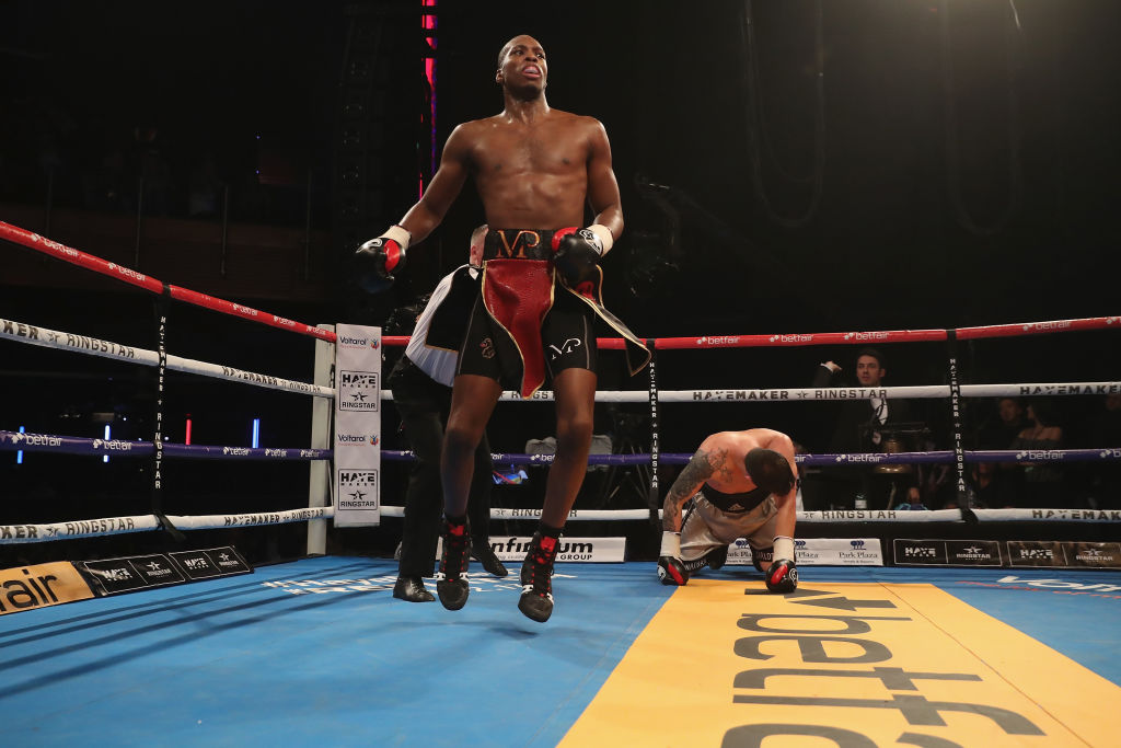 Michael Venom Page picks up boxing debut win in style with knockout victory