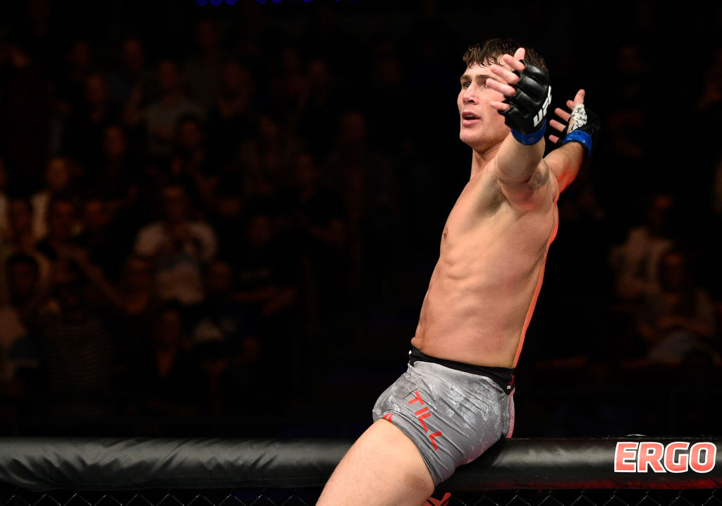 Darren Till eyeing UFC event in Liverpool in 2018: 'It would sell out in 60 seconds'