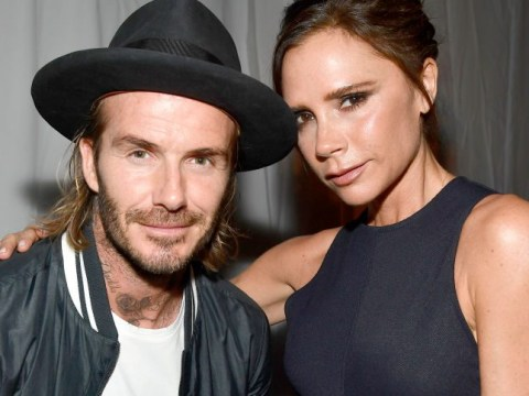 Victoria and David Beckham put on a united front after rumours of Becks new 'wild' party crowd