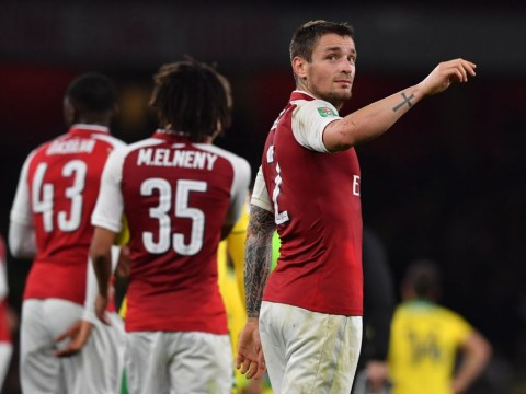 Arsenal's players made a startling admission to the Norwich manager after their 2-1 EFL Cup win