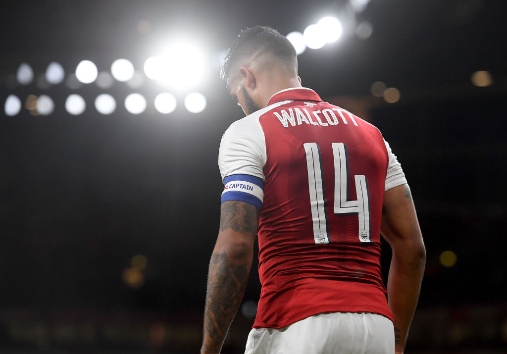 Ian Wright urges Theo Walcott to leave Arsenal for his own good