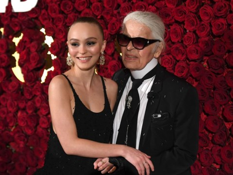 Lily-Rose Depp is the spitting image of mother Vanessa Paradis as she celebrates Chanel's Karl Lagerfeld