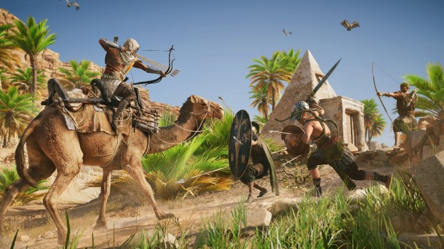 Assassin's Creed Origins (PS4) - it certainly looks the part