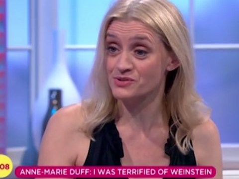 Anne-Marie Duff slams ITV's Lorraine Show after they claim she was 'terrified' of Harvey Weinstein