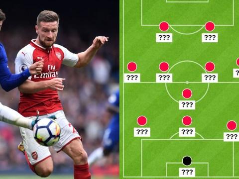 Three ways Arsenal could cope with the loss of Shkodran Mustafi
