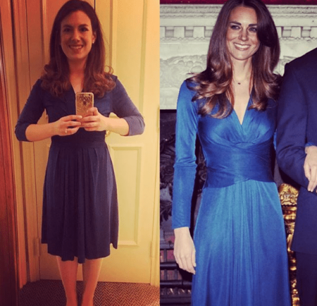 48321d68caaf Meet the woman recreating Kate Middleton's outfits for half the ...