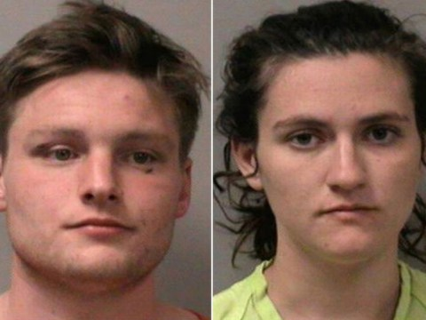 Couple caught having sex look officer straight in the eye, carry on