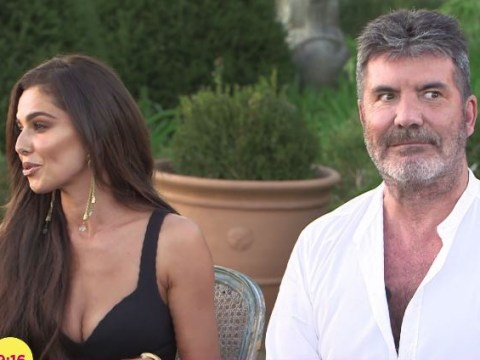 Cheryl and Simon Cowell interview interrupted by gunshots on Lorraine