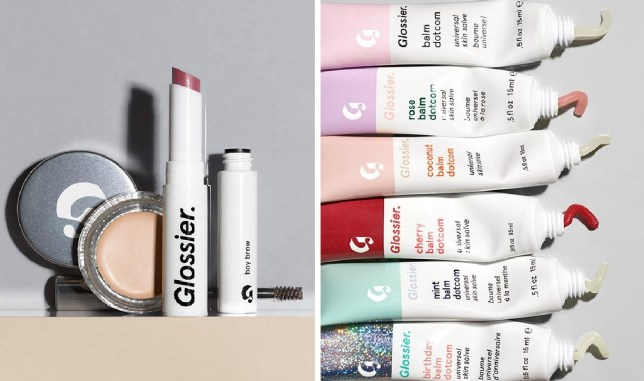 Glossier beauty brand available in the UK