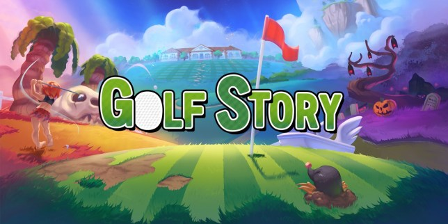 Golf Story key art