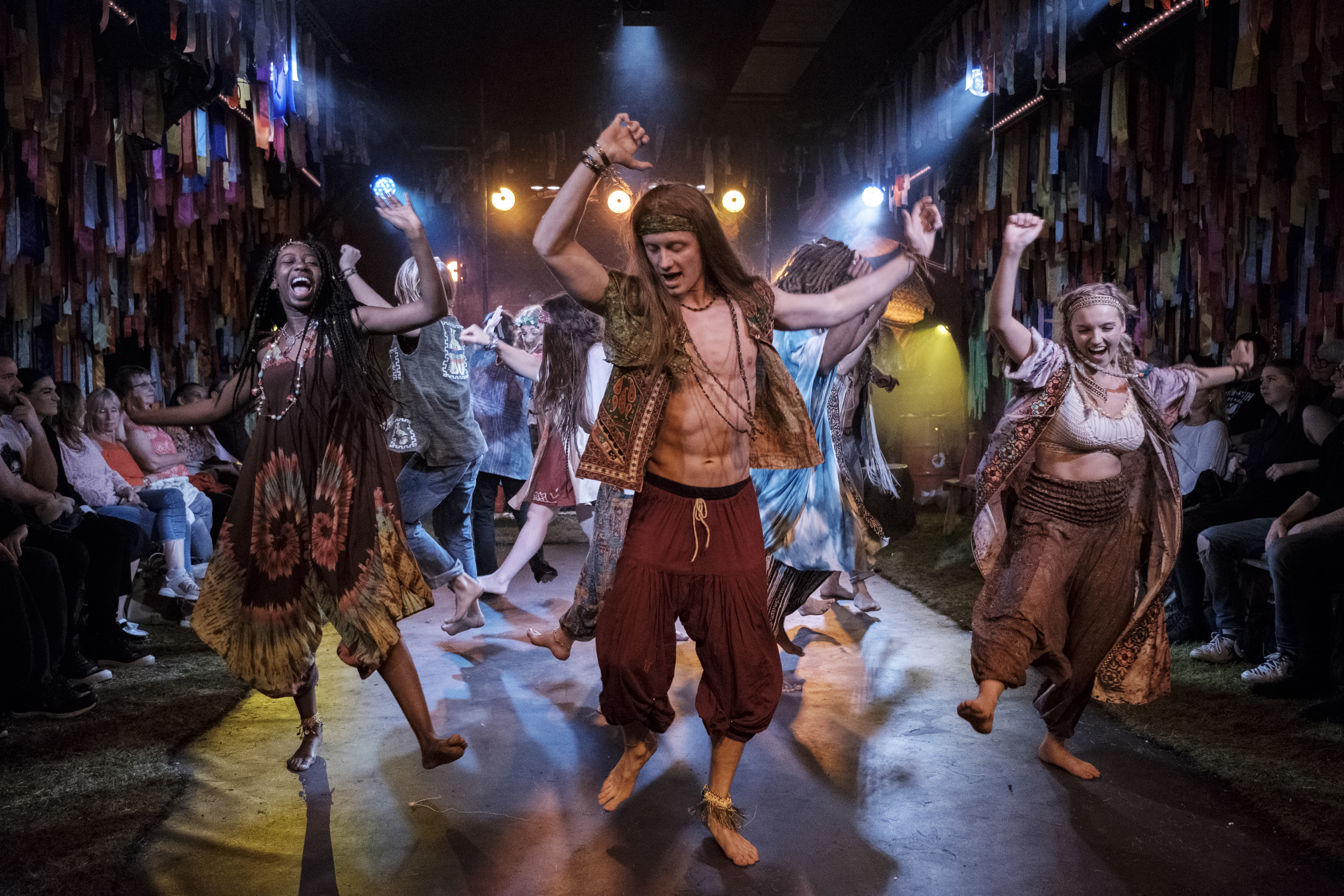 Hair The Musical review: The Vaults hosts a dazzling romp through sex and drug-fuelled Sixties