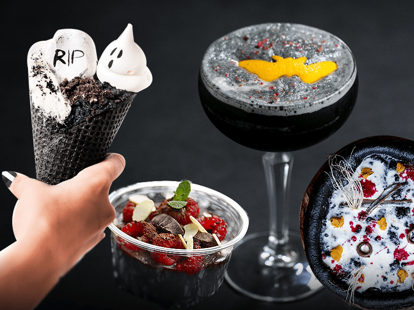 5 places in London to get food as black as your soul this Halloween