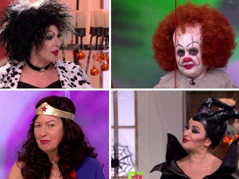 We can't get over the Loose Women transformations for Halloween – they look incredible
