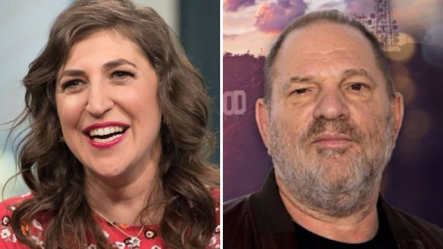 The Big Bang Theory's Mayim Bialik responds to the outrage sparked over her op-ed on Harvey Weinstein