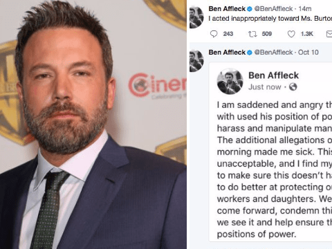 Ben Affleck's tweets are incredible and horrifying all at once