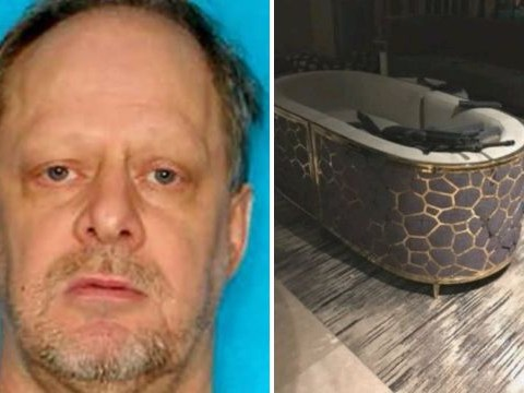 Police tripped over dozens of guns as they stormed Las Vegas killer's hotel room