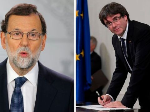 Spain's PM demands to know whether Catalonia declared independence