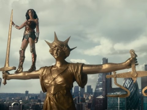 Wonder Woman is easily the coolest part of the new Justice League trailer