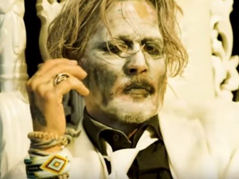 Johnny Depp plays God in Marilyn Manson's gruesome new video for Say10