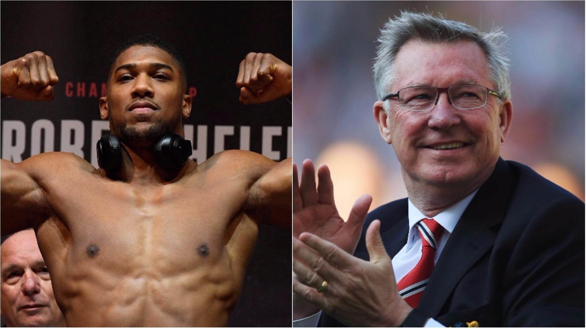 Anthony Joshua reveals Sir Alex Ferguson advice before Carlos Takam fight