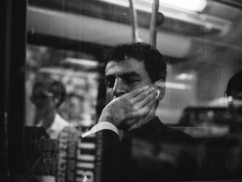 This photographer travels the world capturing the beautiful bleakness of commuting