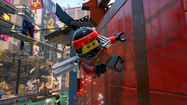 The Lego Ninjago Movie Video Game (PS4) - not the best Lego game, but certainly not the worst