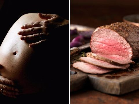 Eating less meat in pregnancy 'linked to drink and drug problems'