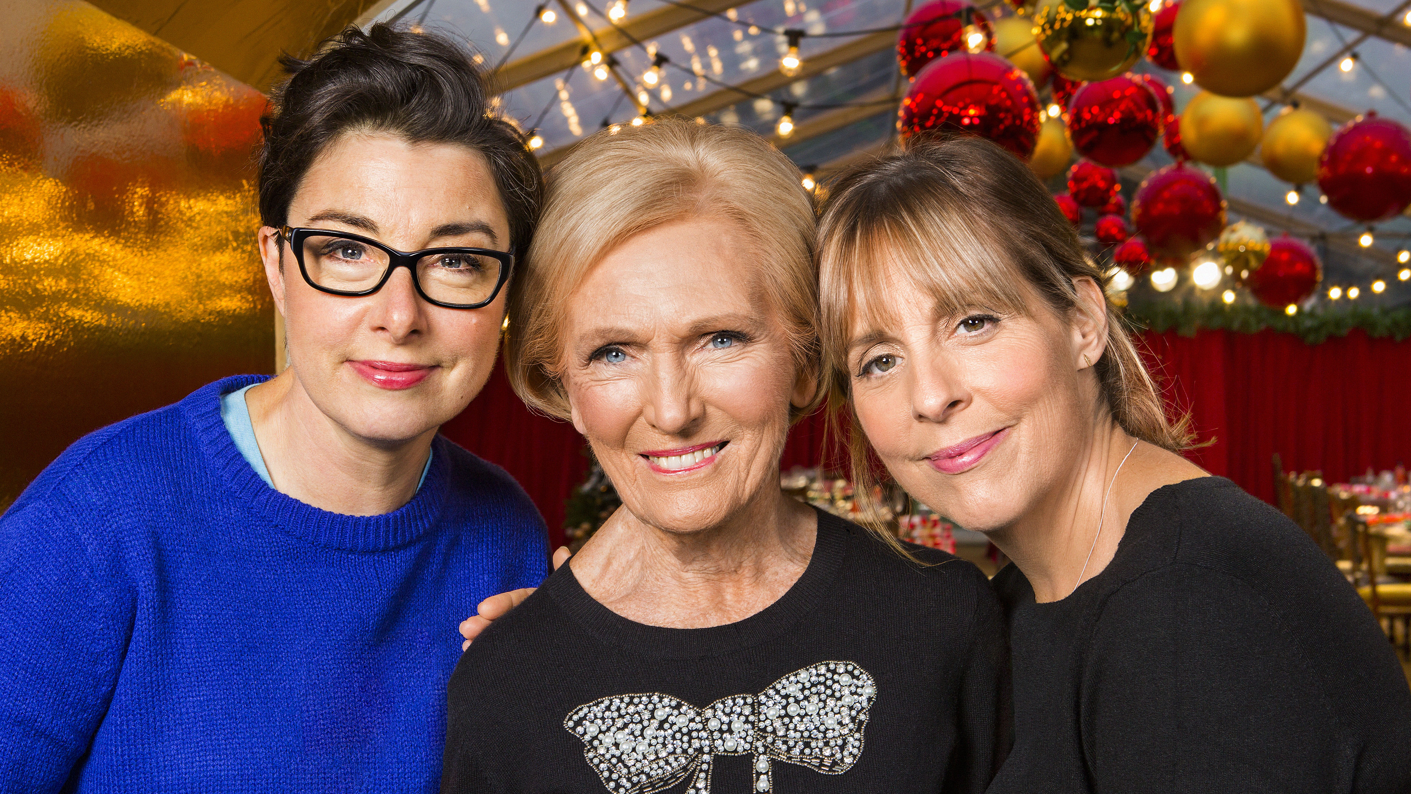 Mel and Sue and Great British Bake Off's OG Mary Berry are cooking up a Christmas special
