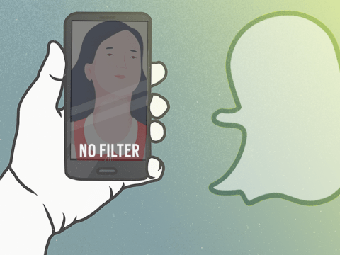 Giving Up: How giving up Snapchat filters helped me feel more confident in my own skin