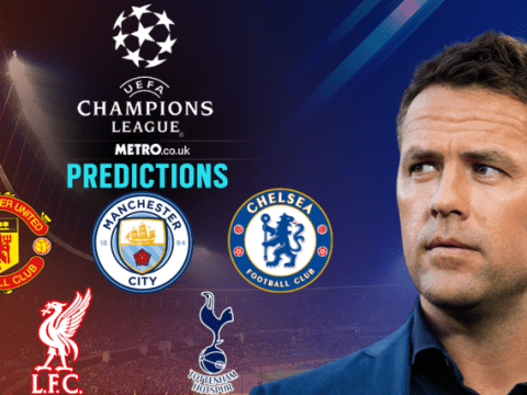 Michael Owen's Champions League predictions, including Man Utd, Chelsea and Spurs v Real Madrid
