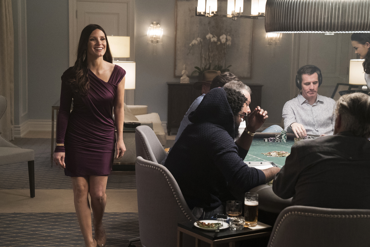 Hollywood's exclusive high-stakes poker game is revealed in first trailer for Molly's Game
