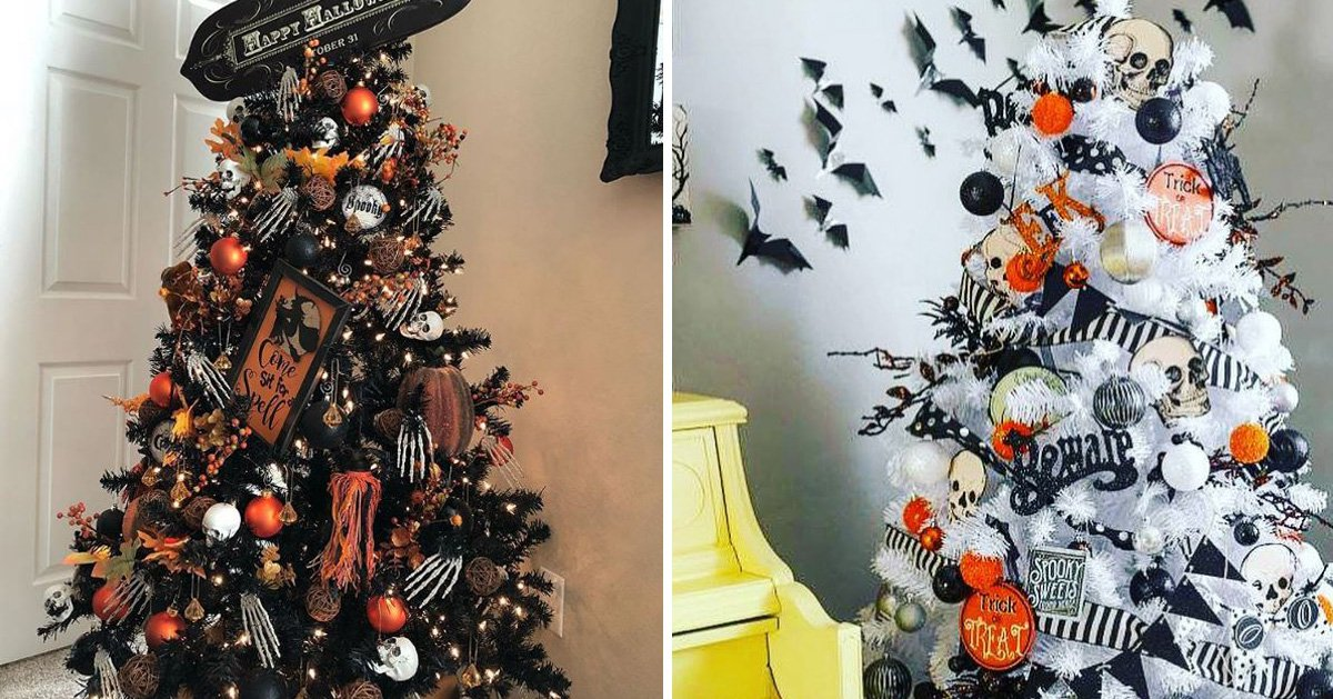 Halloween trees are back and they\u0027re looking spookier than