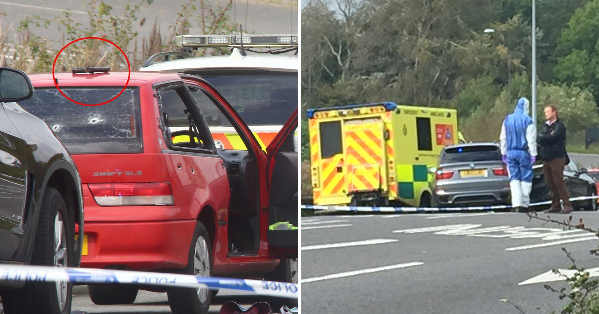 Man shot dead by police near M5 identified as Spencer Ashworth
