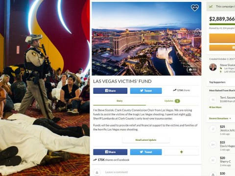 Las Vegas shooting fundraiser passes £2,000,000 in less than 24 hours