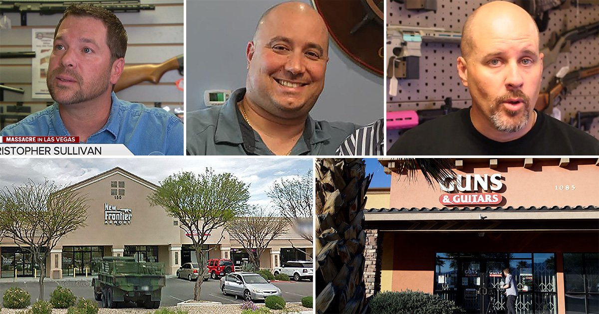 Gun sellers defend selling firearms to Las Vegas shooter saying he seemed an 'everyday Joe'